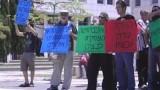 מתוך אירוע תמיכה במאבק של עובדות ניקיון באוניברסיטת בן גוריון