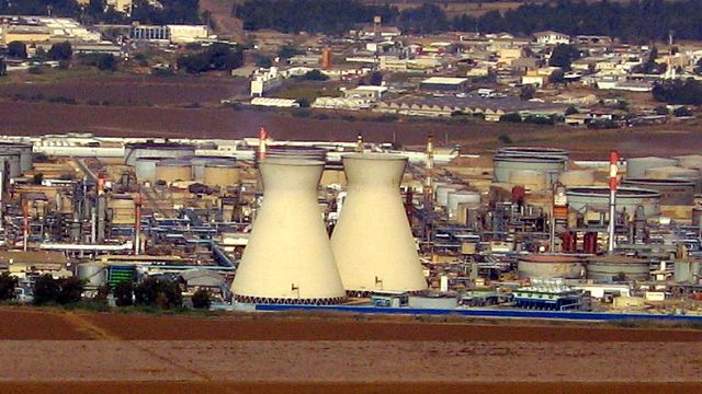 אזור התעשייה במפרץ חיפה: צפוי להתרחב פי שלושה