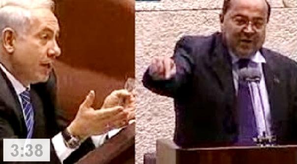 """""""תתנצל בפני הח""""כים הערבים!"""" ח""""כ טיבי ורה""""מ נתניהו בקלאש היסטורי."""