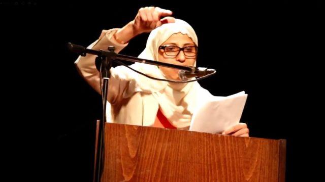 בתמונה: הסופרת דארין טאטור, מתוך עמוד המחאה לשחרורה.