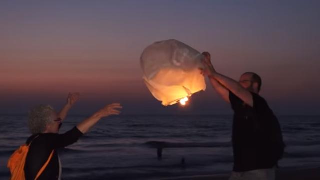 מסר של אור ותקווה לעזה