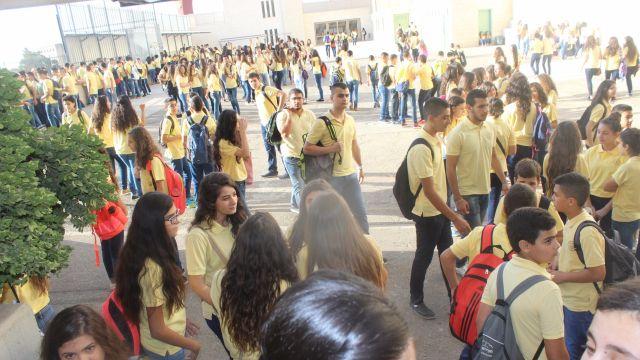 התלמידים חוזרים ללימודים (קרדיט arab48.com)