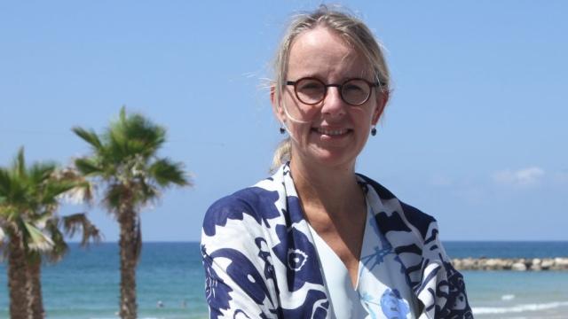 הלן לה גל, שגרירת צרפת בישראל. צילום מתוך אתר שגרירות צרפת בישראל.