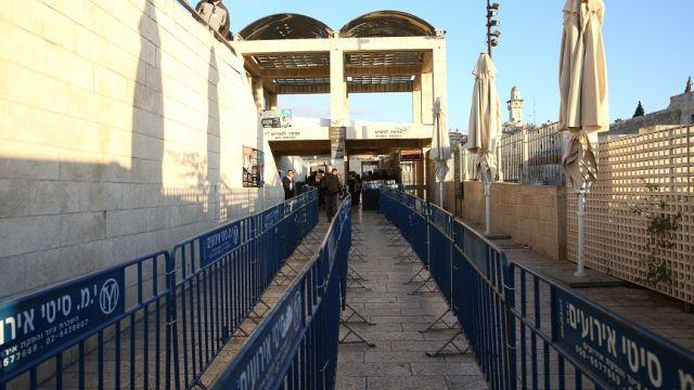 kotel barriers