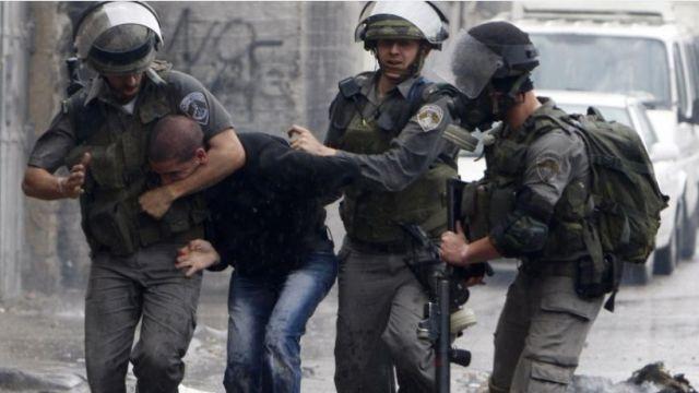 מעצר אלים בשטחים. קרדיט: safa.ps