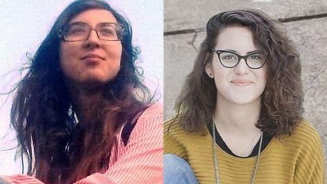 מימן: תאיר קמינר, משמאל: טניה גולן