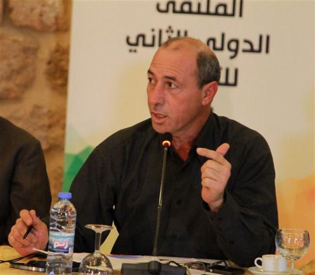 """העיתונאי הפלסטיני עומר נזאל. מתוך אתר """"אל-ספיר"""""""